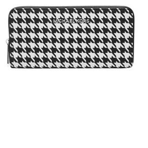 MICHAEL KORS HOUNDSTOOTH WALLET